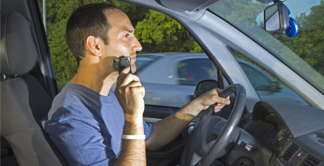 Shaving while driving in Alberta could result in a $287 fine