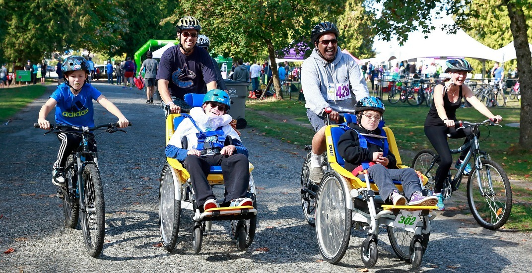 Cheer on racers in the Canuck Place Adventure Race on September 17