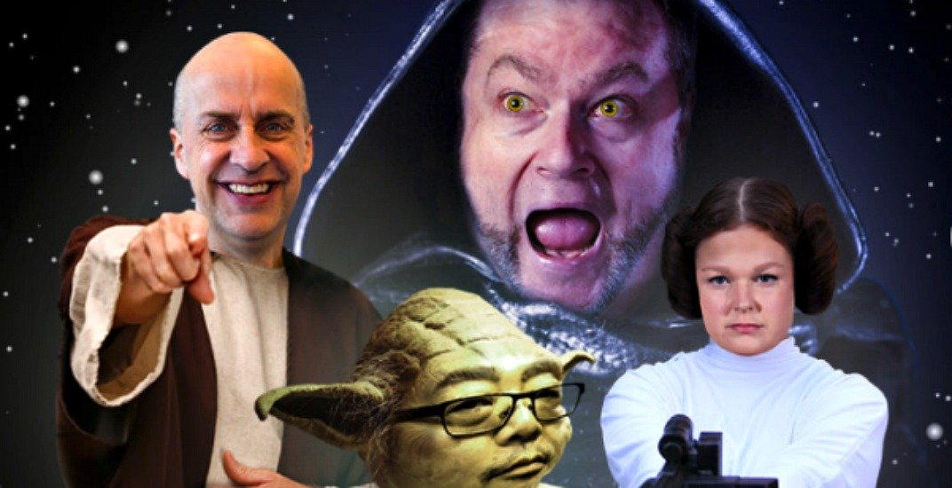 Win four tickets to a Star Wars themed comedy show by VTS (CONTEST)