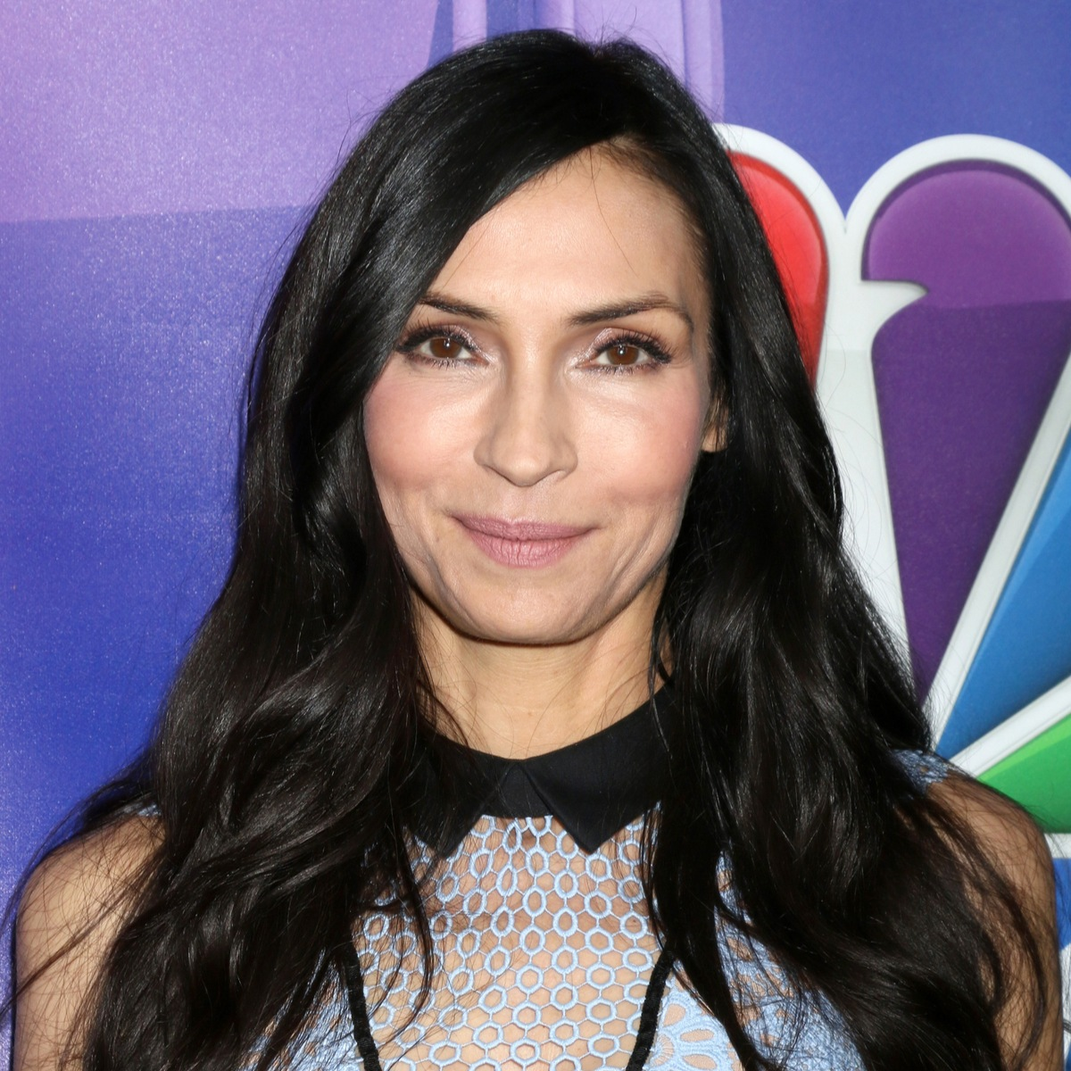 Famke Janssen at the NBC/Universal TCA Winter 2017 at Langham Hotel on January 18, 2017 in Pasadena, CA (Kathy Hutchins/Shutterstock)