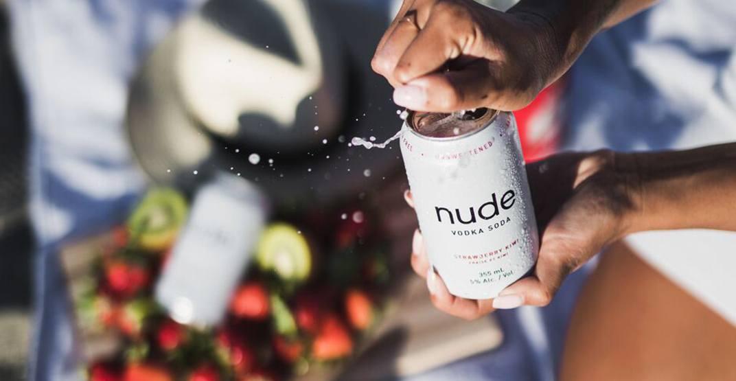 Nude vodka soda