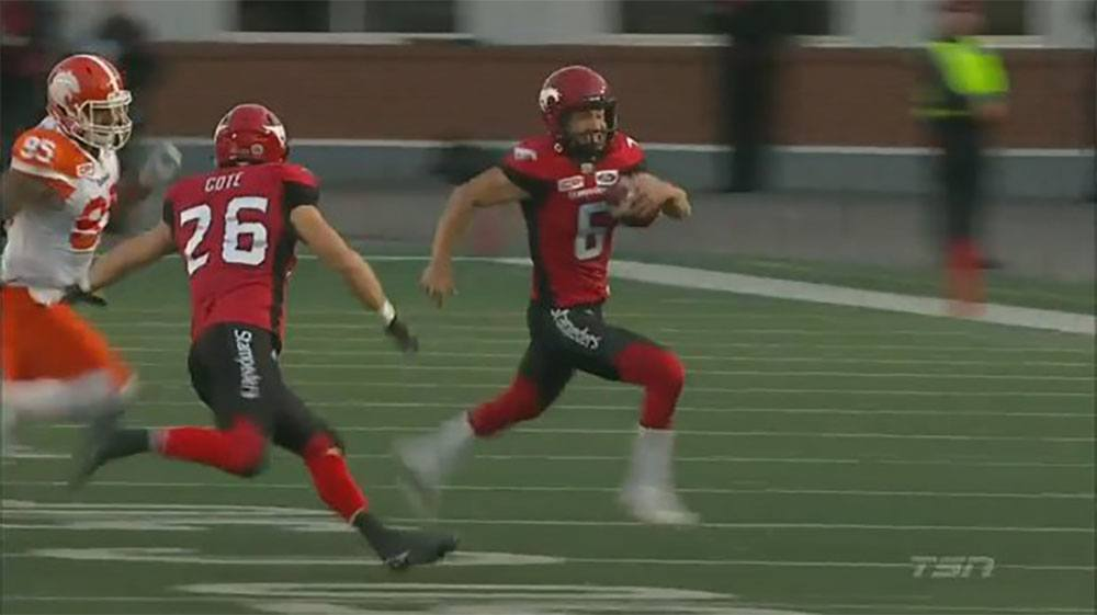 BC Lions fall victim to an accidental fake punt (VIDEO)