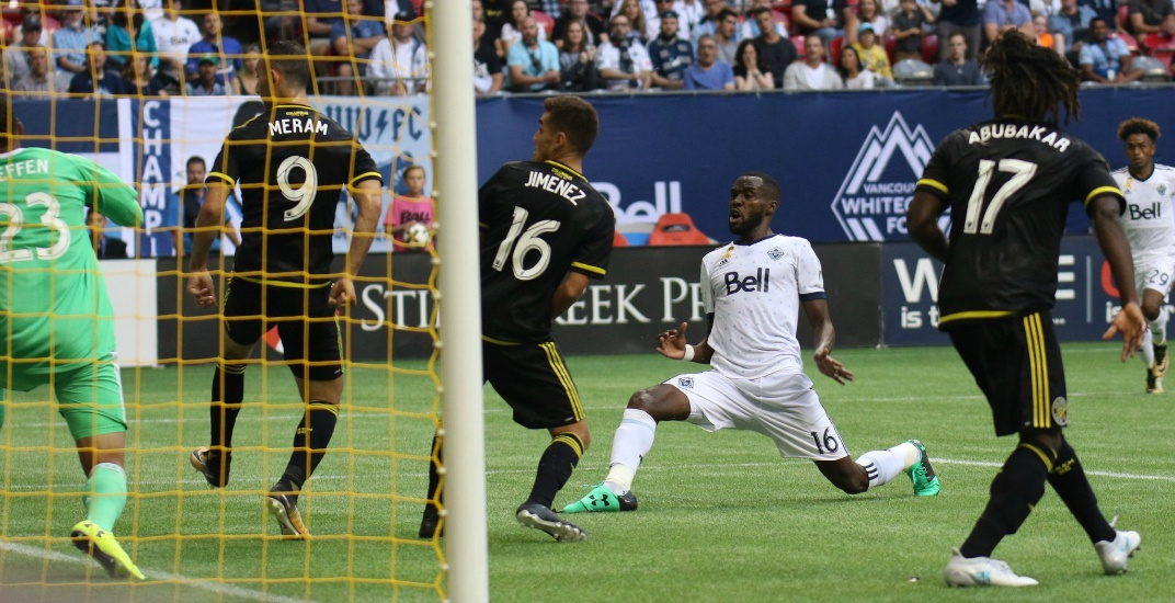 Tchani scores dramatic last-minute goal for Whitecaps against former team (VIDEO)