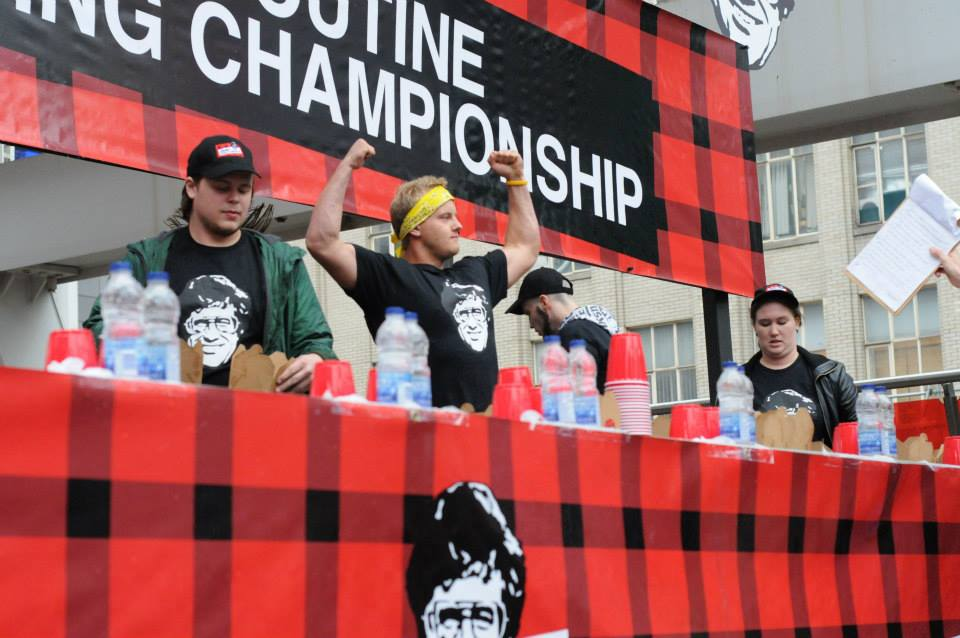 Poutine Eating Championship