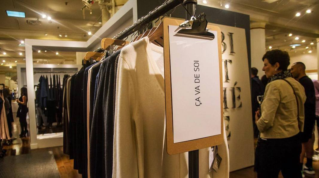 There's a huge designer fashion sale hitting Toronto this month