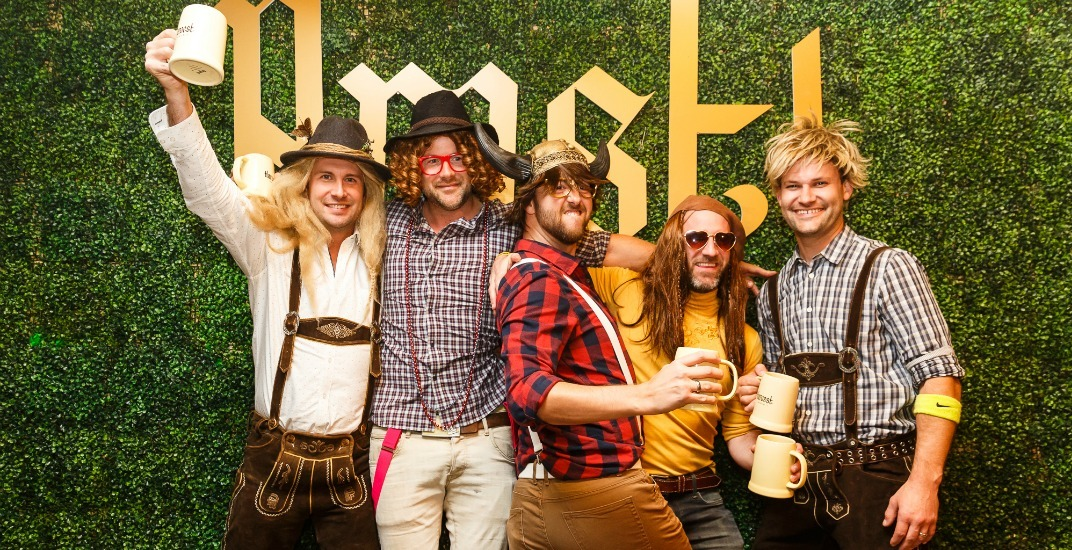 Ach ja! You can play beer sports and win prizes at Harvest Haus 2017