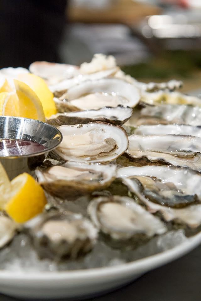 Araxi Restaurant oysters
