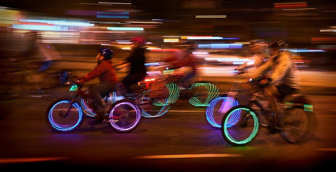 17 of the best pictures from Bike The Night Vancouver 2017 (PHOTOS/VIDEOS)