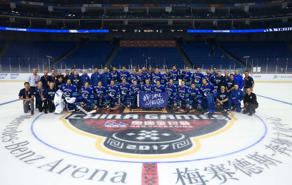 canucks china