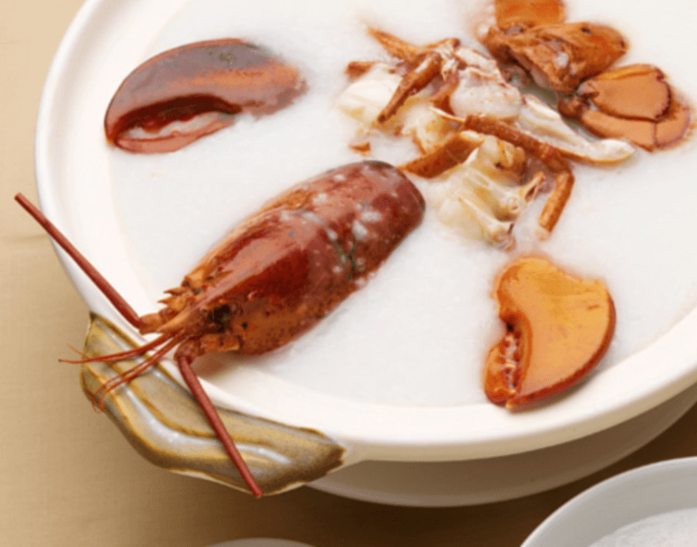 Congee Wong lobster