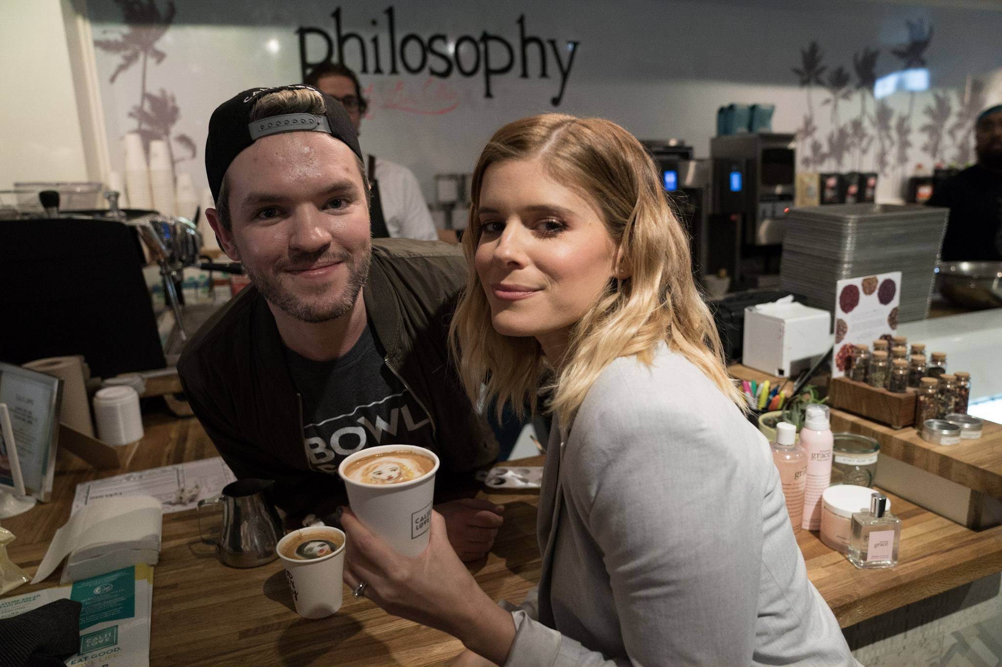 TIFF Calii Love celebrity lattes barista brian