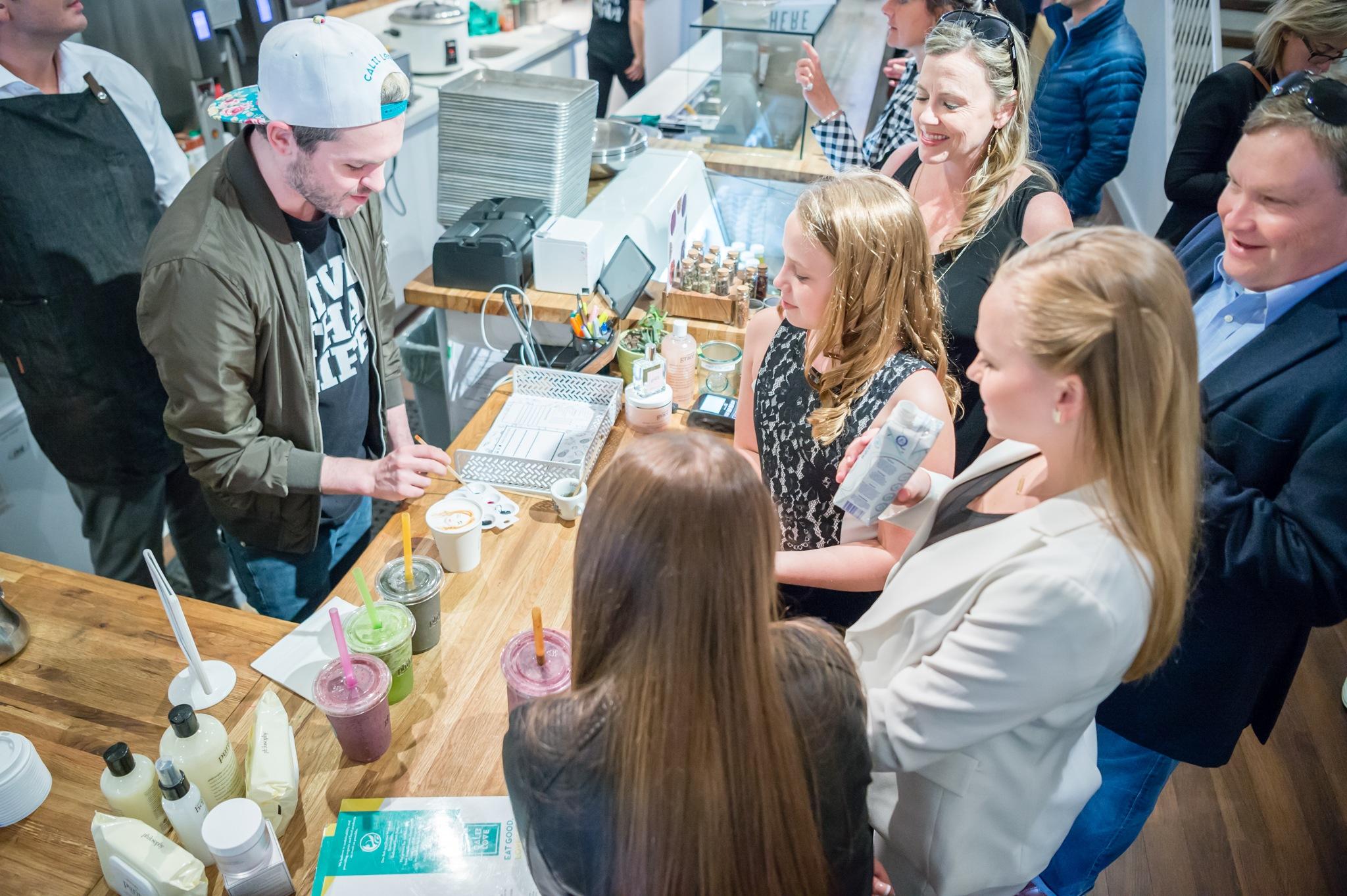 TIFF Calii Love celebrity lattes barista brian