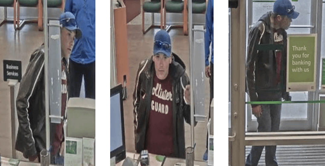 Police looking for Hollister-clad bank robber