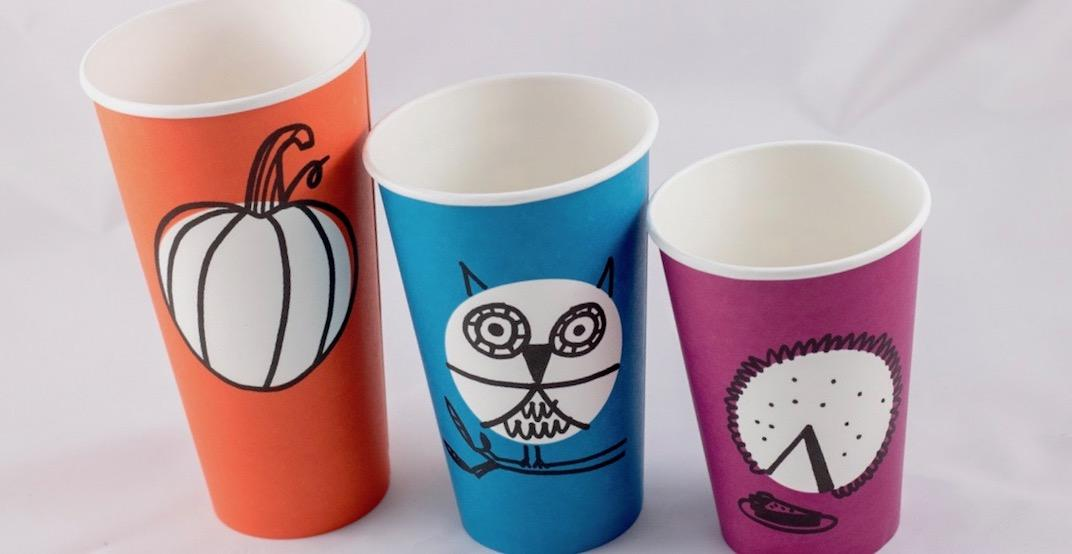 Starbucks just unveiled their most adorable fall cup designs yet