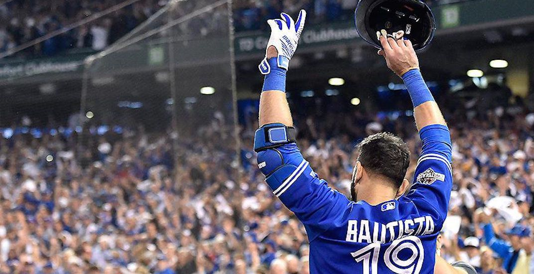 Major League Baseball has left Jose Bautista behind