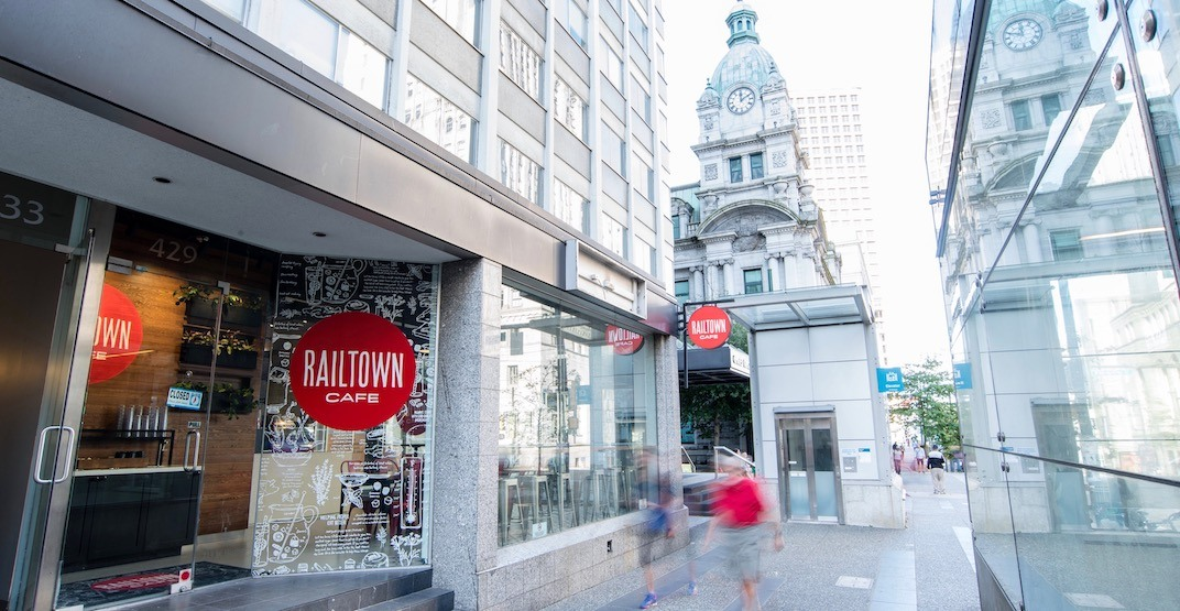 Railtown Cafe's Granville Street location now open