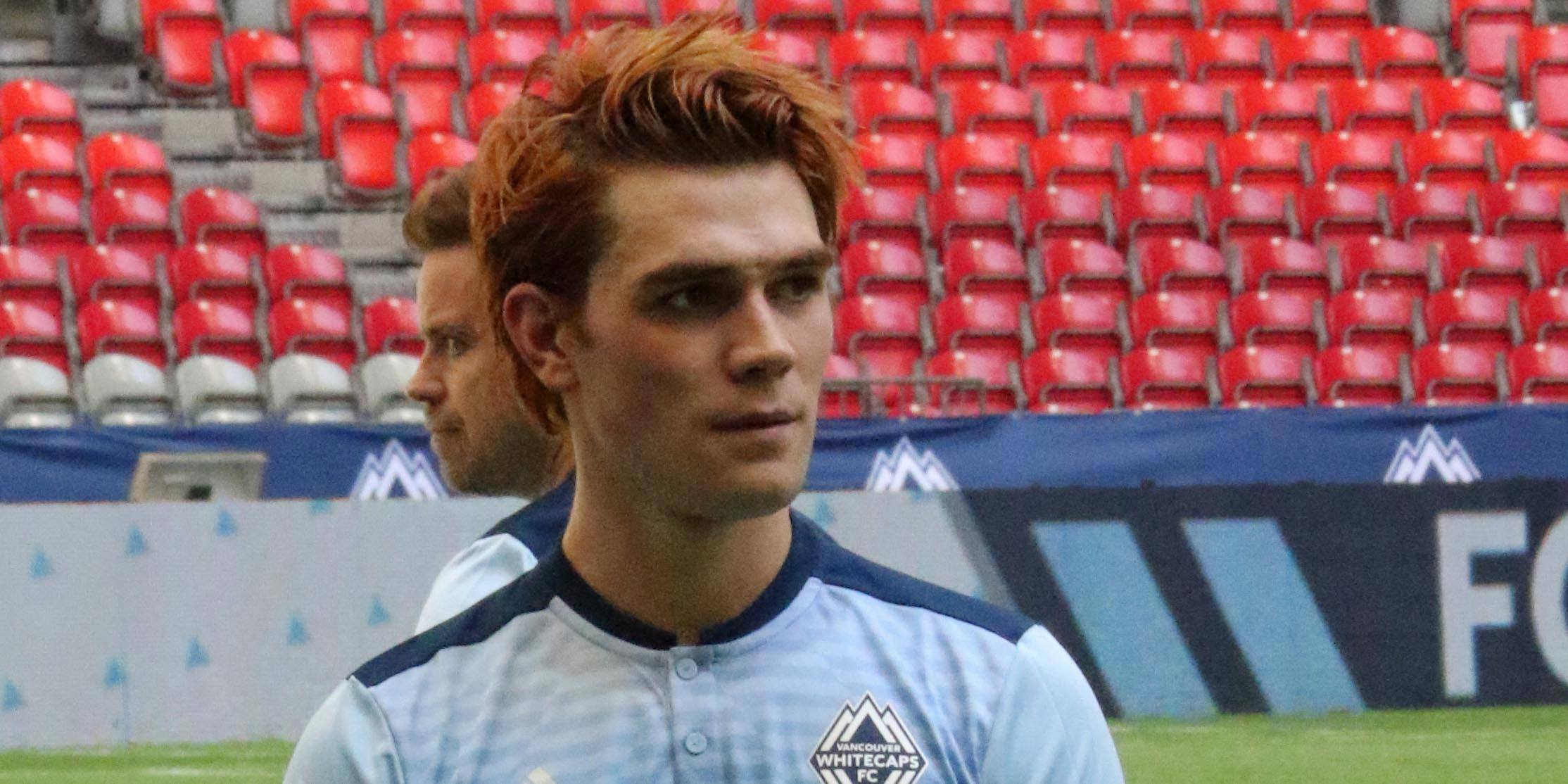 Riverdale's KJ Apa involved in Langley car crash after 16-hour day on the set