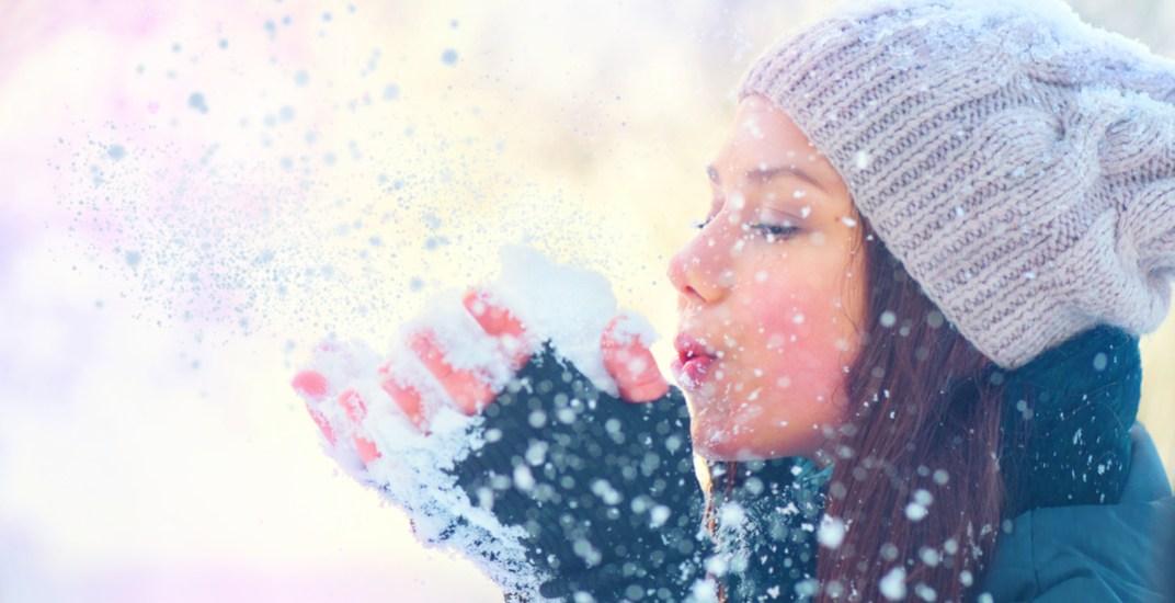 Woman in the snow subbotina annashutterstock