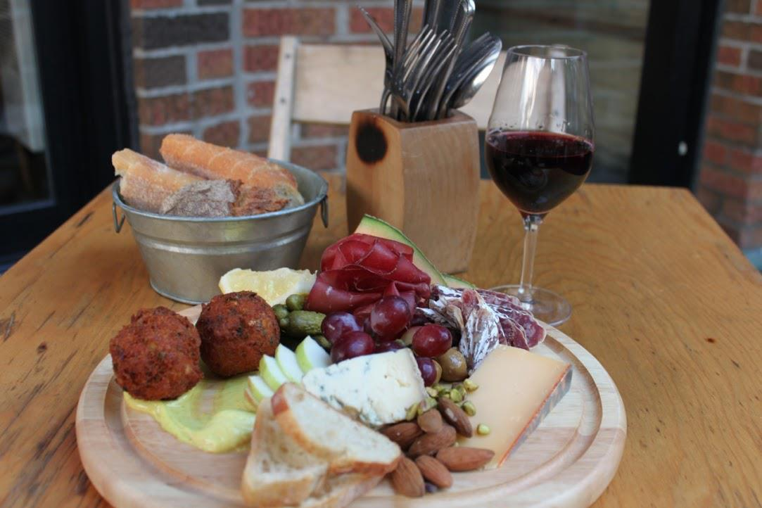 Buvette chez Simone cheese charcuterie wine