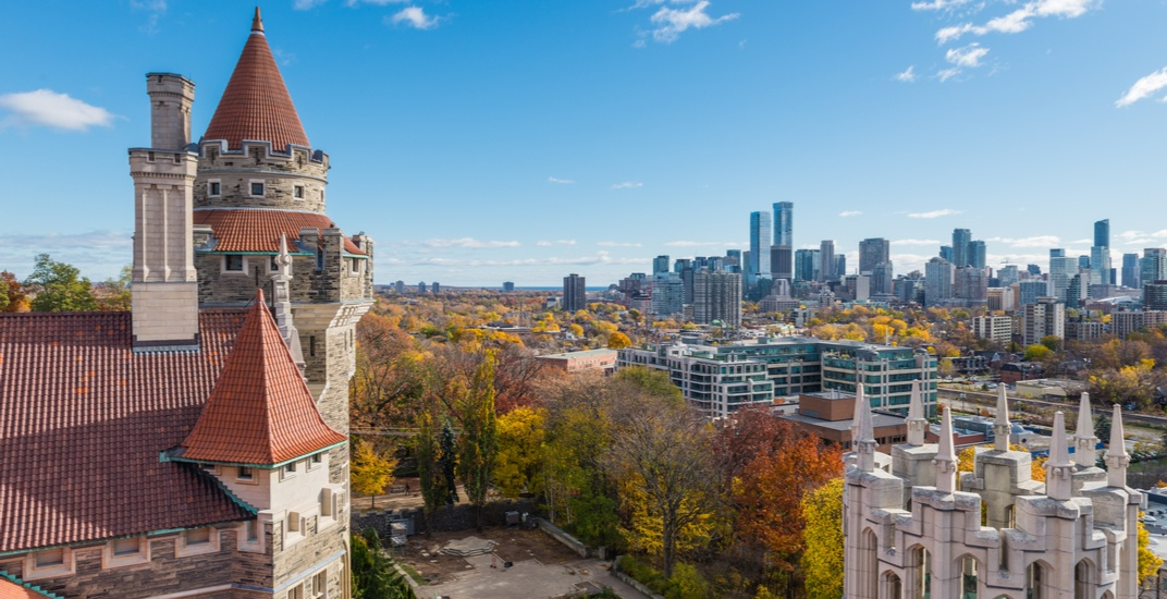 You can now have a Thanksgiving Feast at Casa Loma