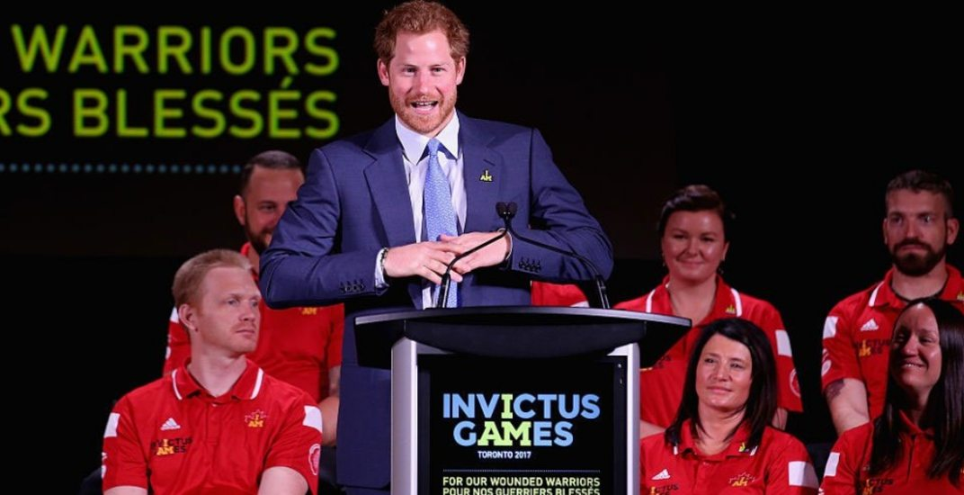 Prince Harry has landed in Toronto for Invictus Games (PHOTOS)