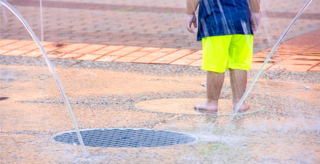 city splash pads open