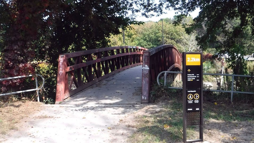 Toronto's Lower Don Trail reopens with new modern wayfinders (PHOTOS)