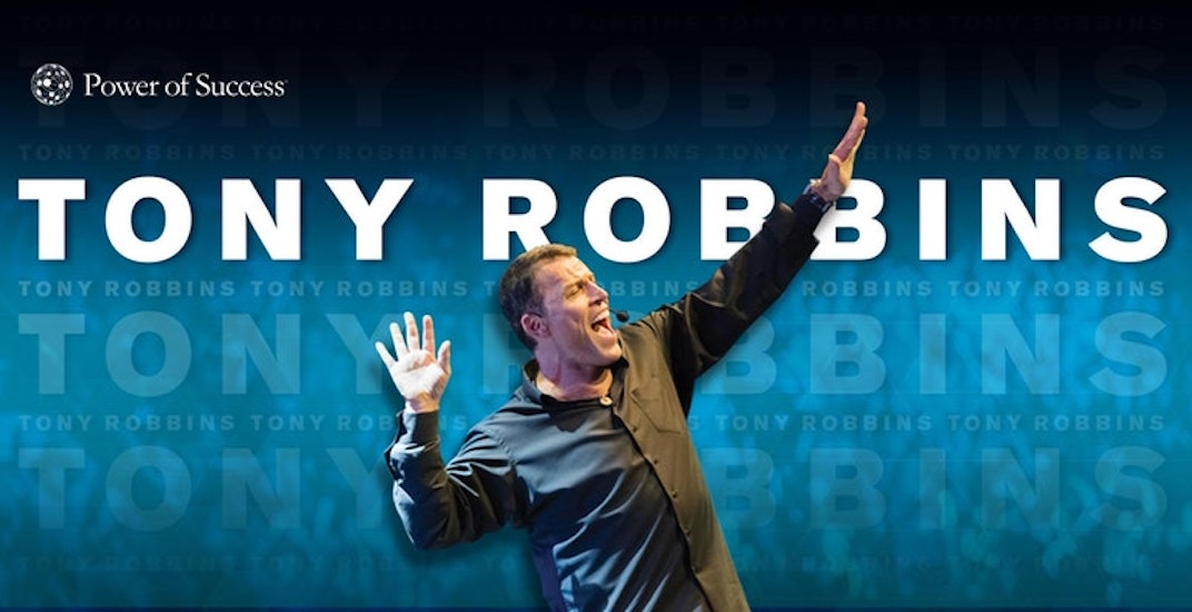 Tony Robbins charging up to $1,500 to attend his Calgary event