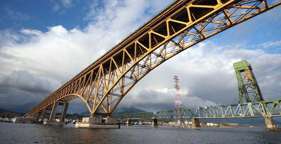 Second narrows ironworkers memorial bridge