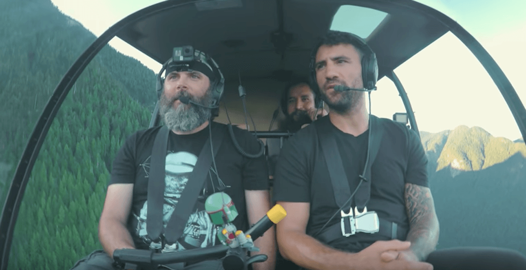 BizNasty goes on a scenic helicopter tour in BC (VIDEO)