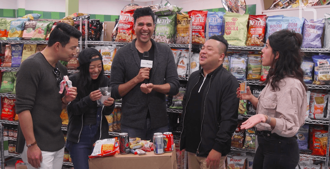 'Kim's Convenience' stars try extreme snack shopping (VIDEO)