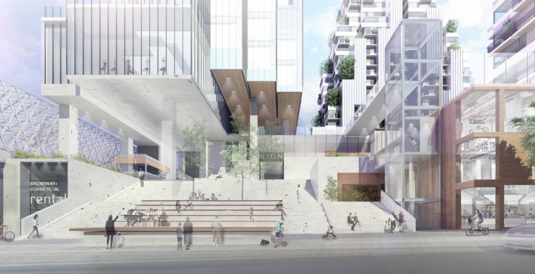 'Vertical village' proposed for Commercial-Broadway Station's Safeway redevelopment