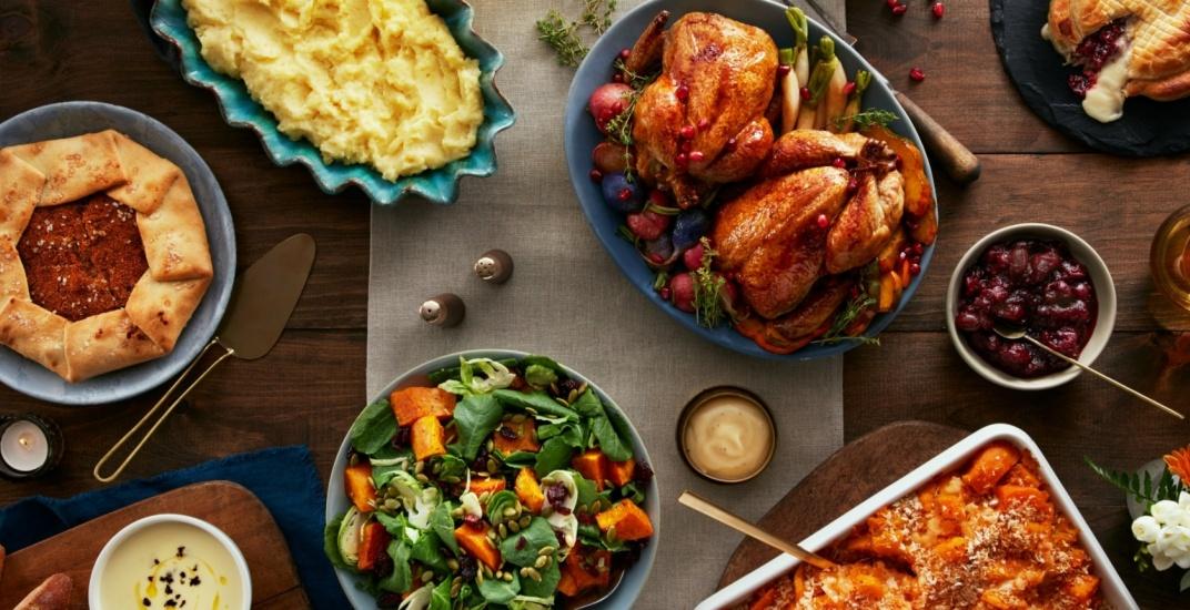 Pusateris turkey dinner