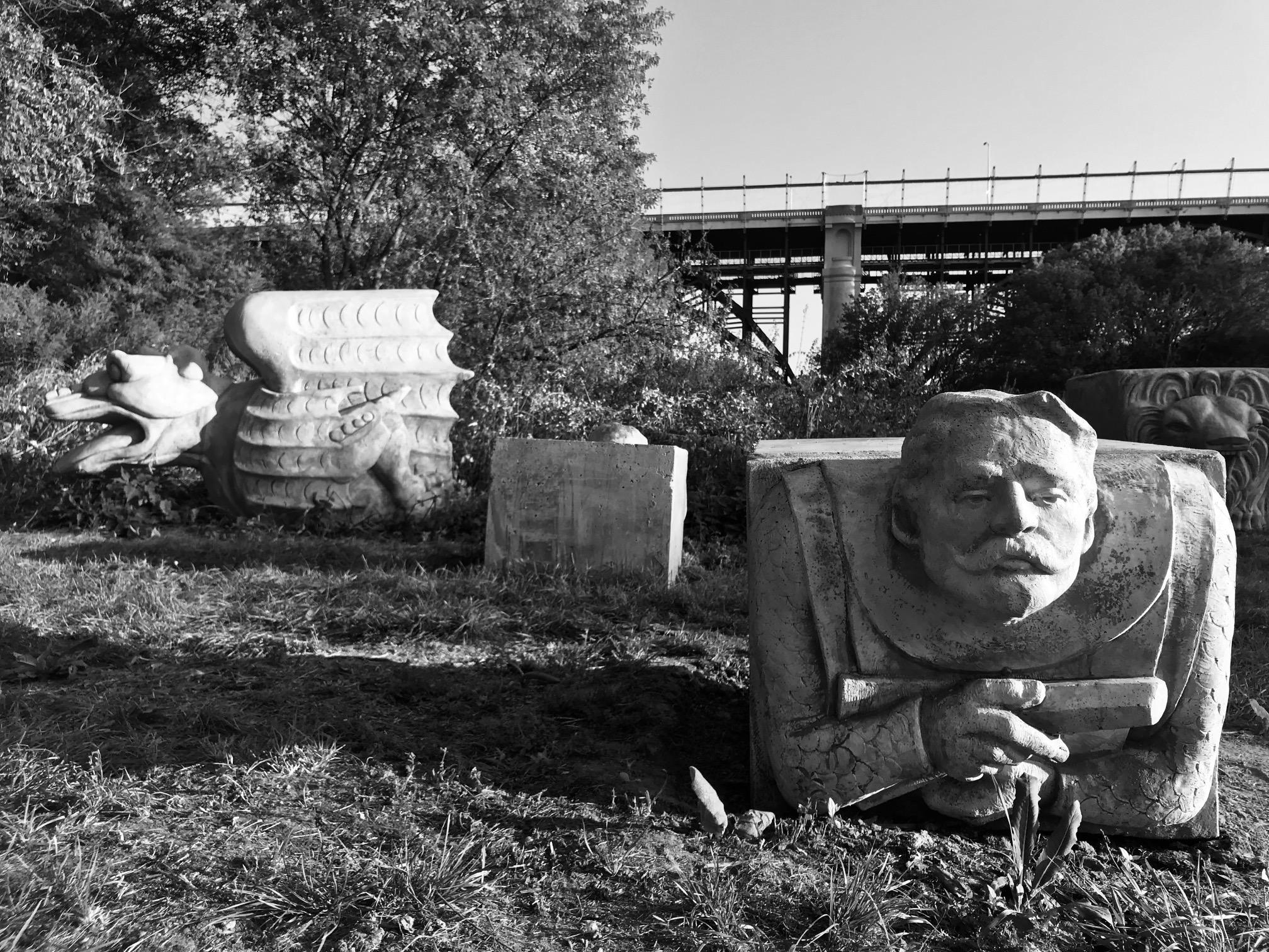 Duane Linklater Monsters for Beauty don river valley gargoyles gargoyle