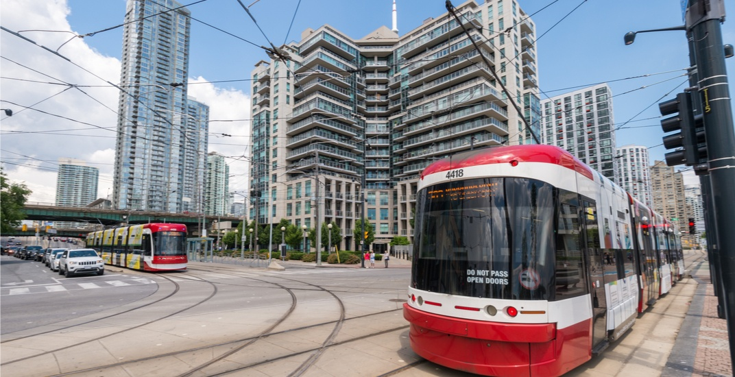A future waterfront transit plan in Toronto includes a cable-car proposal