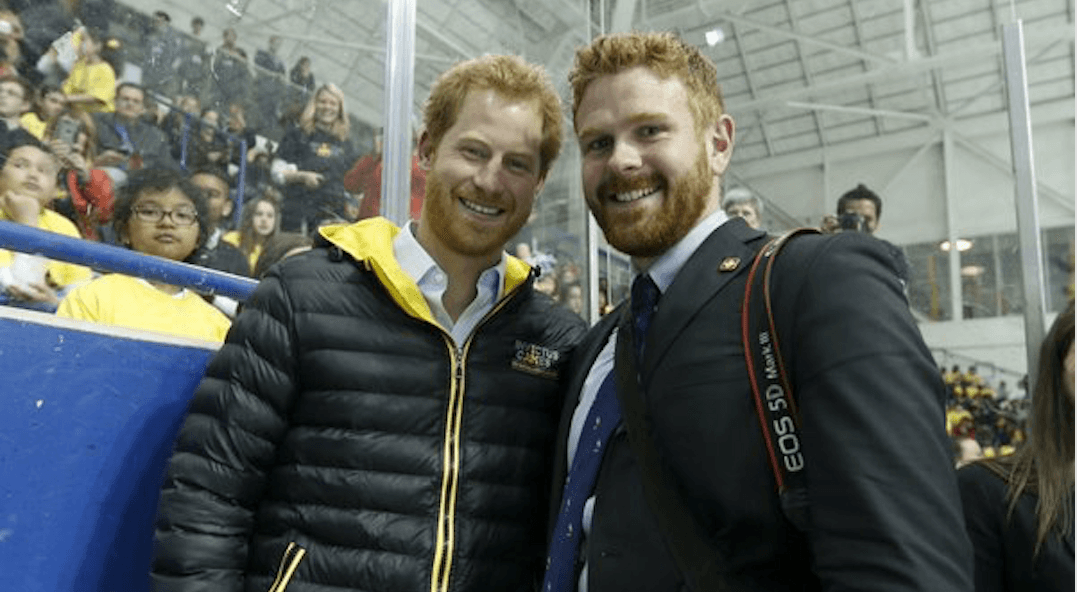 Trudeau's photographer mistaken for Prince Harry in Toronto (VIDEO)