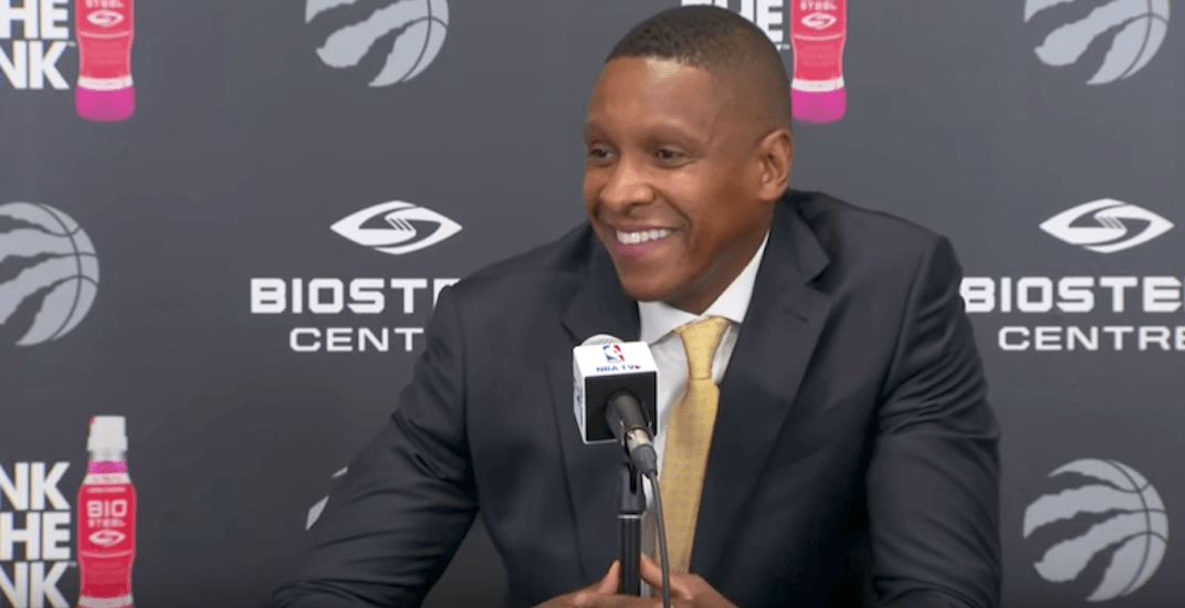 Raptors president on potential Trump invite: 'We'll be fine with Trudeau' (VIDEO)