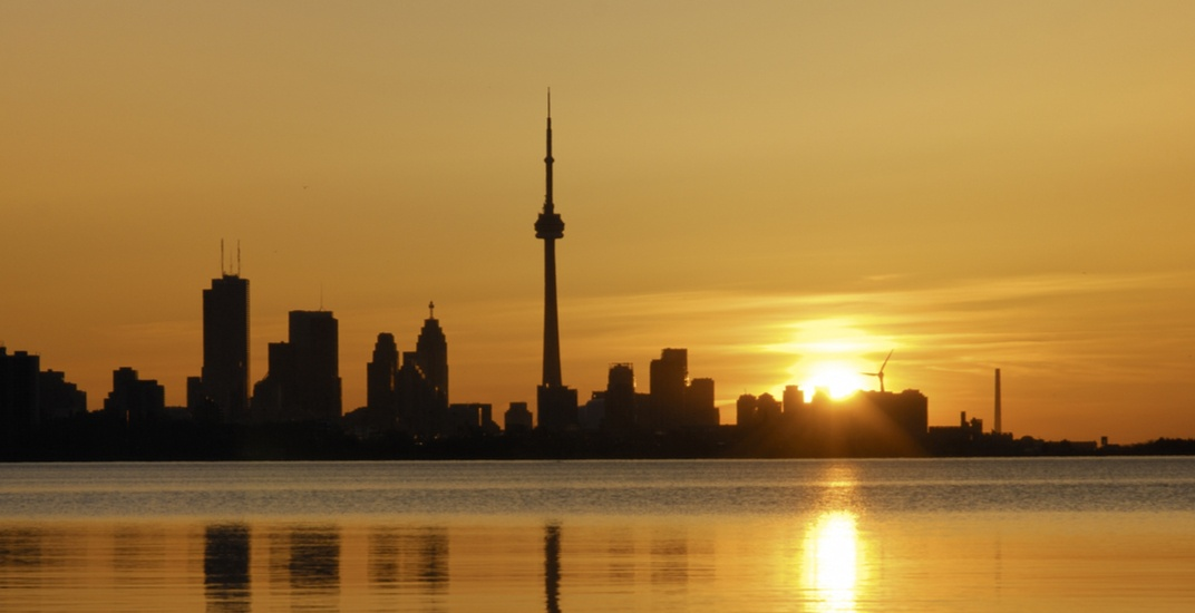 It's 14 degrees hotter in Toronto than it is in Vancouver right now