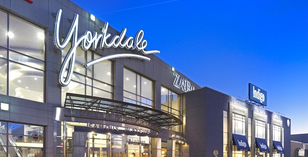 There's a huge holiday job fair at Yorkdale Shopping Centre this week