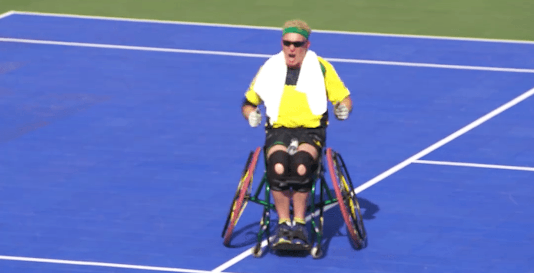 Wheelchair athlete's Invictus Games dance going viral (VIDEO)