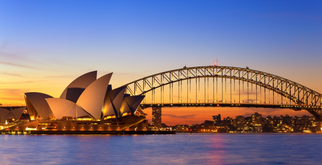 You can fly from Calgary to Sydney, Australia for $931 return