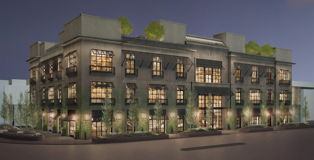 Toronto is getting one of the largest RH stores in the world