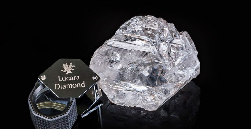 The Lesedi La Rona diamond (Lucara)