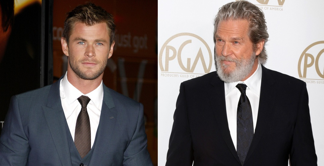 Chris Hemsworth and Jeff Bridges in Vancouver this winter to film thriller