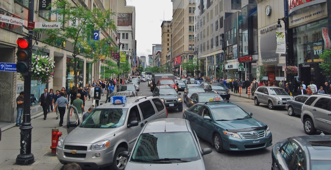 Montreal street closures will cause serious headaches for drivers this weekend (PHOTOS)