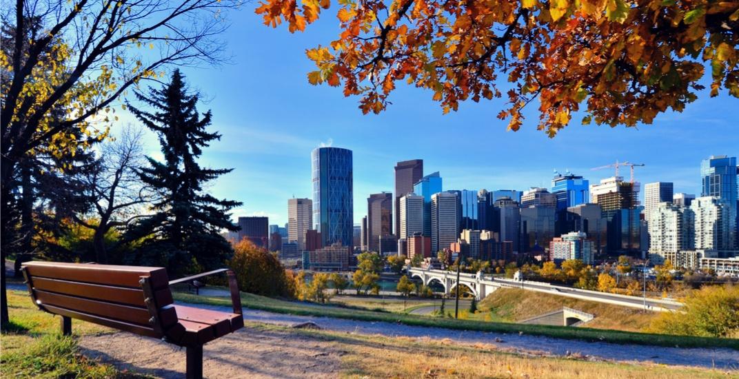 Calgary fall autumn