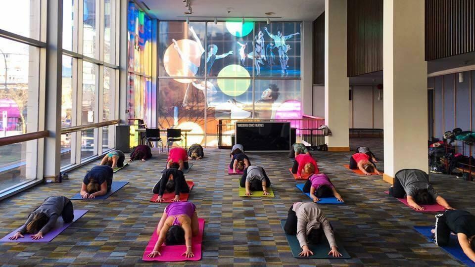 Vancouver Playhouse Yoga