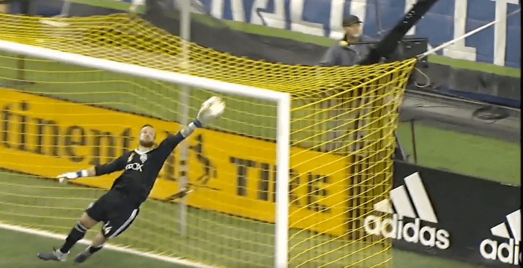 Ridiculous save the turning point for Whitecaps in Seattle (VIDEO)