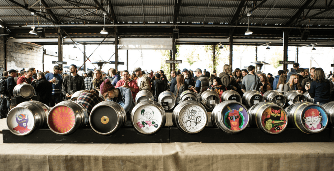 Toronto's massive cask-conditioned beer festival is back this October