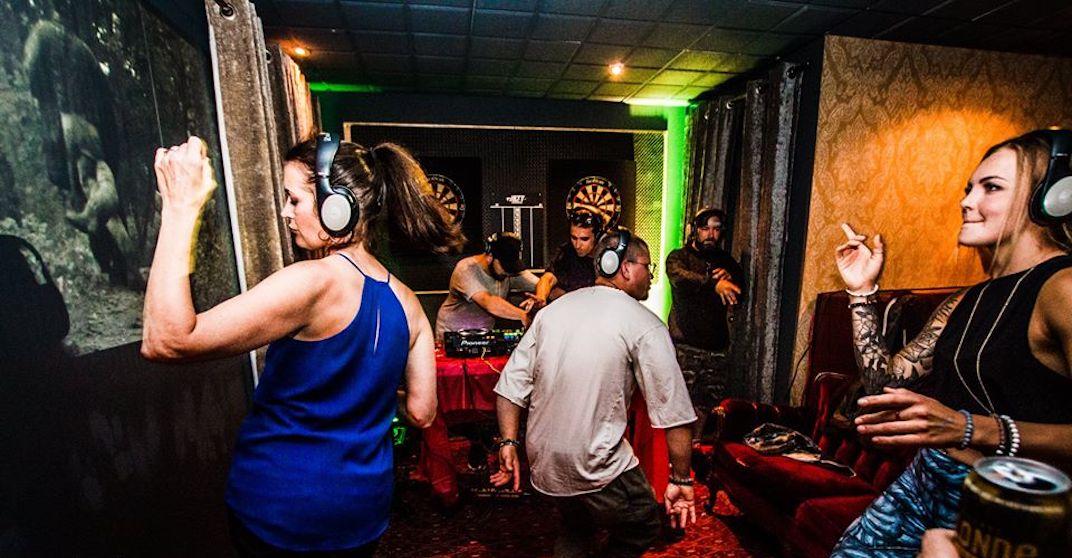 Quiet Hours Silent Disco hosting end of summer banger